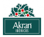 LOGO Akran Ibericos - BGTrans - Black copia 6
